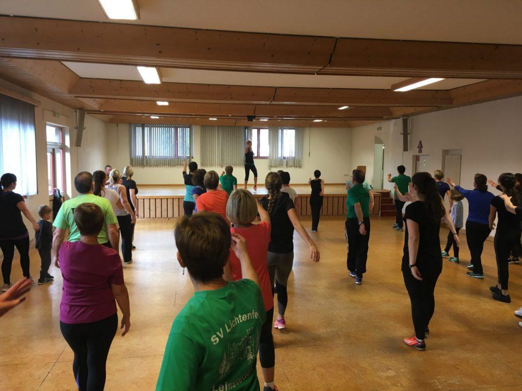 Nachmittag für aktive Frauen und Männer beim SVL