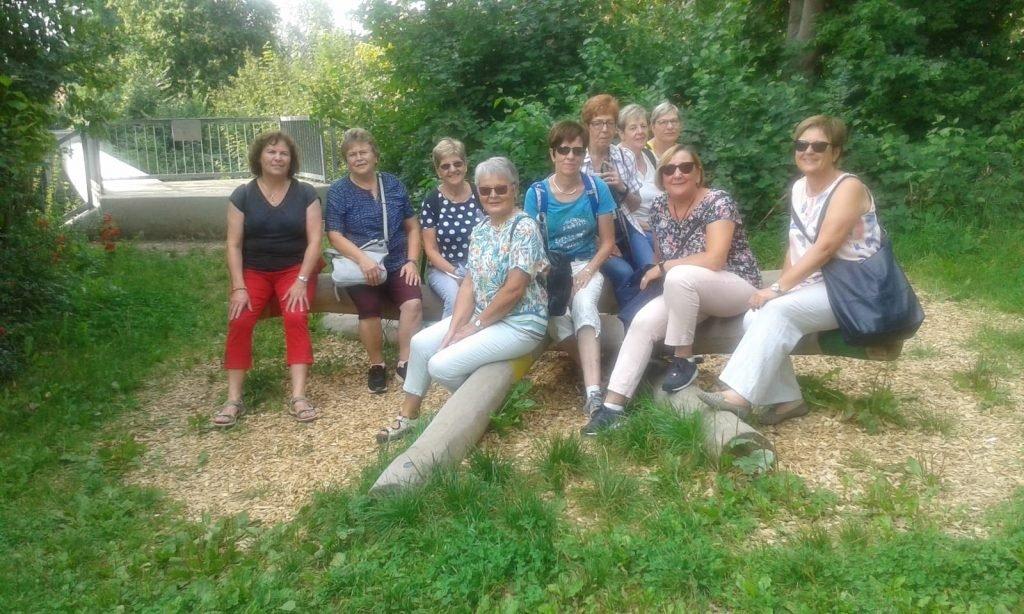 Leinstetter Turnerfrauen unterwegs im Remstal