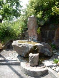 Brunnen an der Steige