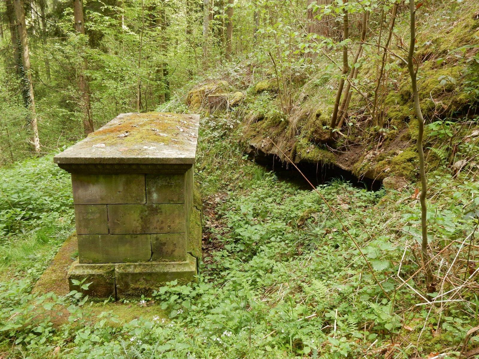 Grab des Freiherr von Frank