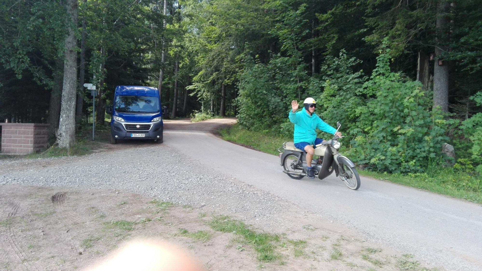 Auf dem Hirschpfad bei Ödenwald.