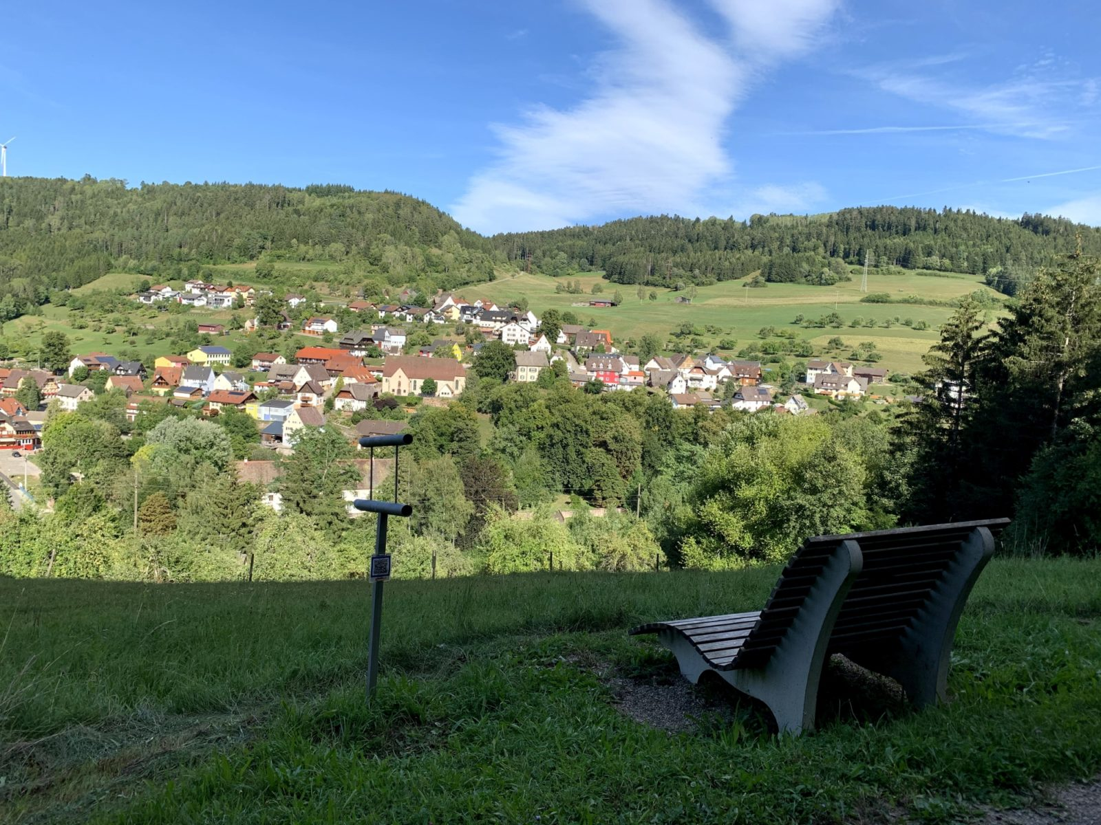 Waldsofa Schloßbrückenblick